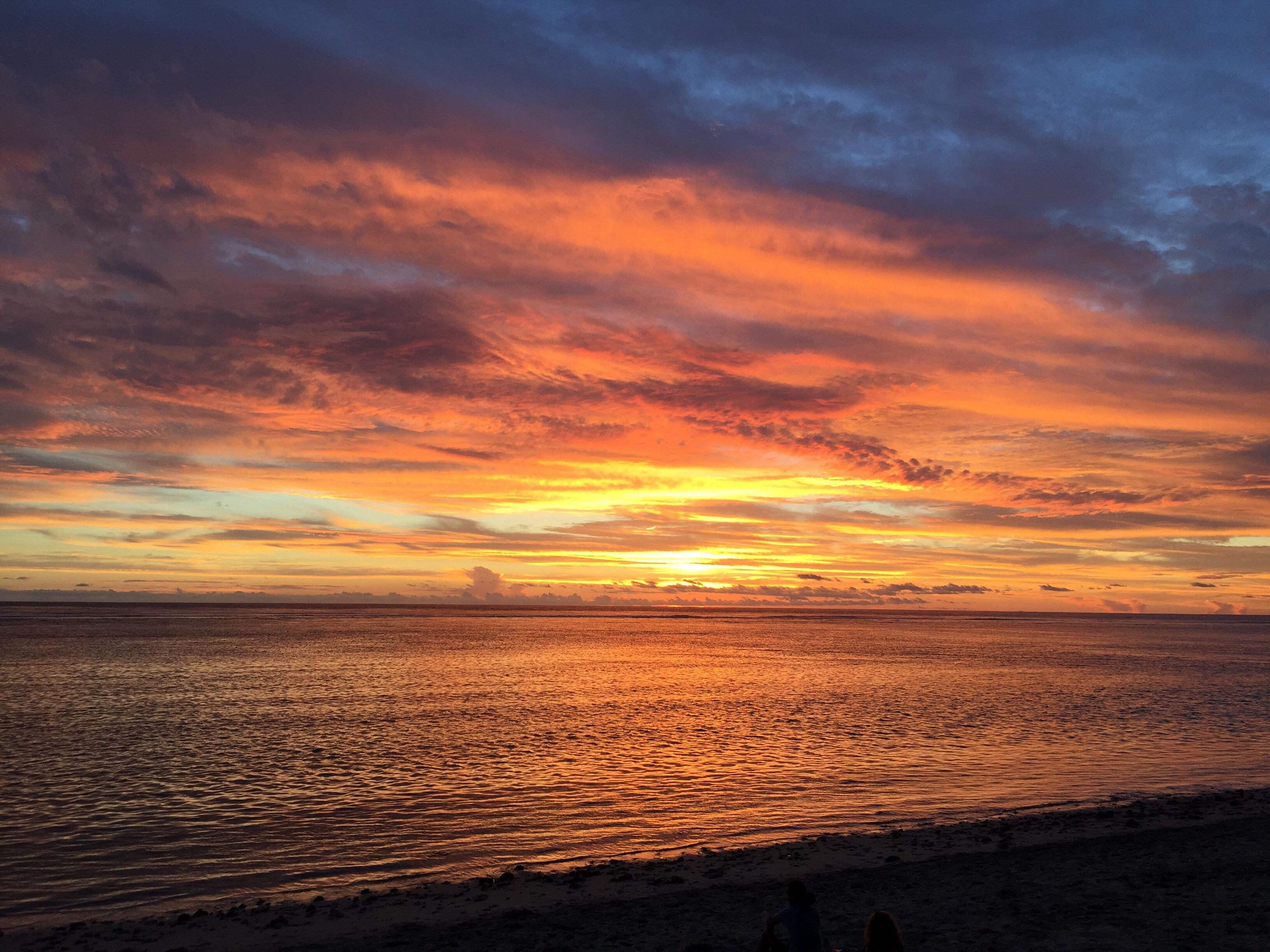 Les plus beaux couchers de soleil de la r union les - Les plus beaux coucher de soleil sur la mer ...
